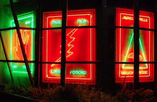 FortuneTeller Neon sign