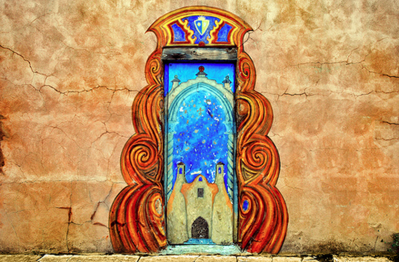 Maxine_painted Door way HOME