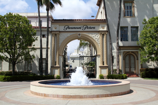 Paramount Front entrance