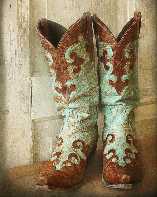 Maxine's loaner pair cowboy boots