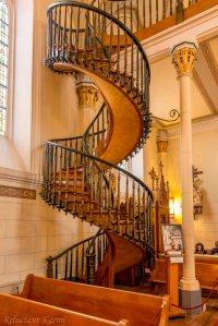 Loretto Chapel santa fe staircase