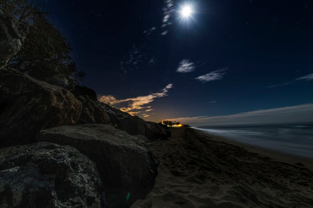 Malibu Coastline_Night