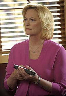 Phyllis - pink suit