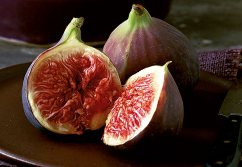 open fig still life